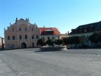 Hodkovice nad Mohelkou: Náměstí T.G.Masaryka
