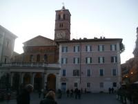 Řím - Santa Maria in Trastevere