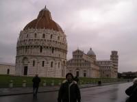 Pisa, Dóm a baptiserium