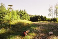 Stiborové boudy - jezírko
