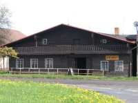 Dům ve Volarech: Dřevěný dům alpského typu