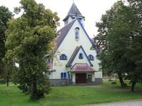 Rybniště, secesní kostel svatého Jozefa z roku 1912