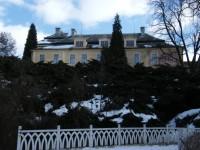 zadní pohled na zámek