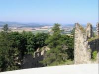 pohled s výhlídkové věže