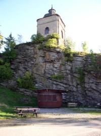 hradní kaple - pohled z amfiteátru