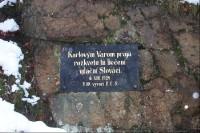 Slovenská děkovná deska
