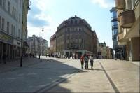 Rozdělení ulic T.G.Masaryka a Dr.Davida Bechera