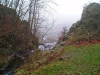 Ústí Veverky do přehrady