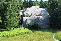 Jizerskými horami přes Lužické hory do Pekelných dolů, 3.část. CHKO Lužické hory, Jítrava, Sloní kameny, Vraní skály, Popova skála, Rynoltice.