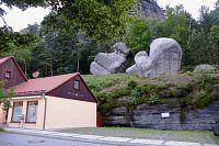 Jizerskými horami přes Lužické hory do Pekelných dolů, 5.část. Německá část Lužických hor, Oybin.