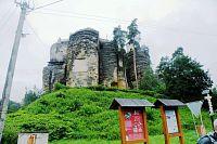 Jizerskými horami přes Lužické hory do Pekelných dolů, 8.část. Skalní hrad Sloup, Sloupská skalní města, Pusté kostely, Pekelné doly.