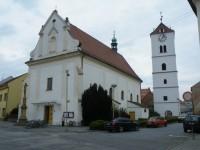 Strážnice, Bílá věž u kostela sv.Martina