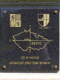 Geografický střed ČR