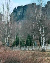hřbitov a horolezci