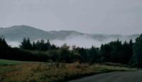 mlha nad vltavským údolím
