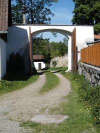 brána statku U Štemberků