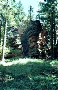 Kleť, skalní hrad