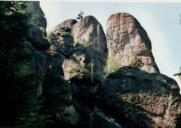 Broumovské stěny, Kovářská rokle