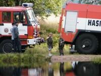 ale pak přijeli hasiči pro vodu, asi potřebovali cvičit