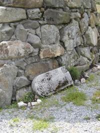 i zbytky původního zdiva