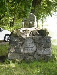 pomníček pod Rýznburkem