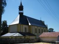 kostel v Růžové