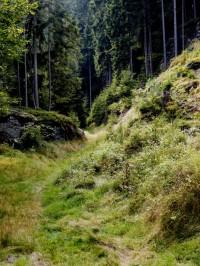 tajemná cesta do skal