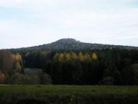 podvečerní Vlčí hora