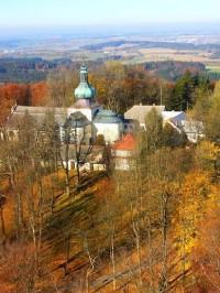 Křemešník: Kostel na Křemešníku.