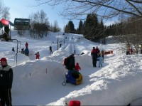 Vlek a Snowtubing pod VZ Bedřichov