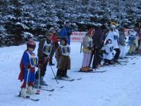 Karneval na lyžích - Veřovice - leden 2012