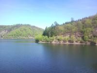 pohled z přehrady