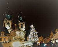 Výlet na vánoční trhy v Praze na Staroměstském náměstí