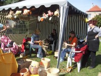 Foto z loňského - tj. 1. ročníku řemeslného trhu