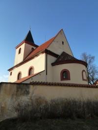 Hrusice - kostel sv. Václava