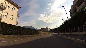 Cyklotrasa z Riva del Garda do města Arco