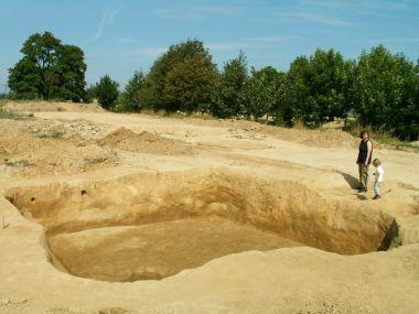 Archeologický průzkum místa