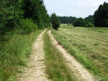 Cesta mezi Rakovicemi a Myšticemi