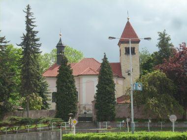 kostel sv.Petra a Pavla Řeporyje