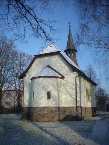 kostel Klánovice