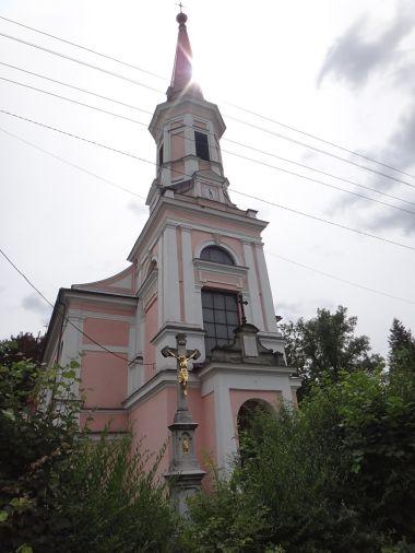 Doubrava kostel sv. Hedviky