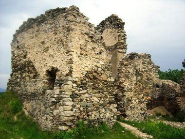 Brníčko-hradní palác od severozápadu-Foto:Ulrych Mir.
