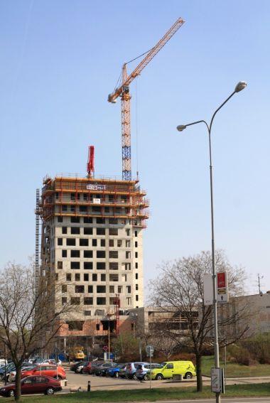 Výstavba AZ Tower Heršpická