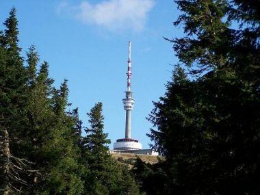 Praděd - pohled od Švýcárny