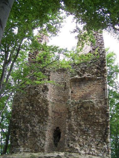 Kaltenštejn - věž