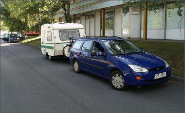 Odpočali jsme si - my, auto i karavan...