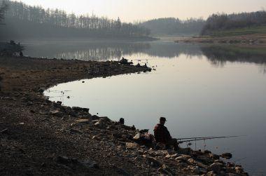 Hostivařská přehrada po ránu
