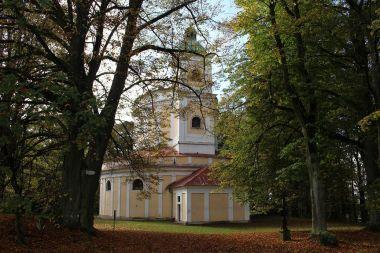 Tanaberk, kostel sv. Anny