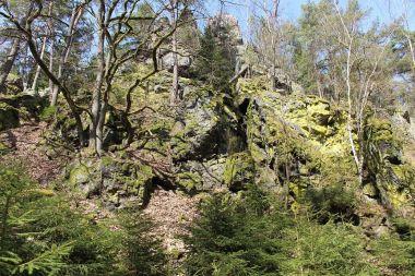 Čertovo břemeno, skála na jižní straně