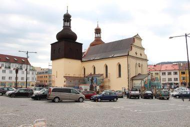Náchod, kostel sv. Vavřince